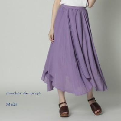 【 Mサイズ】アシンメトリーフレアスカートレディース 【toucher du brise トウシェドブリーズ】 婦人服 ファッション20代 30代 40代 人