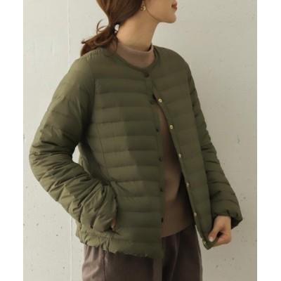 (URBAN RESEARCH DOORS/アーバンリサーチ ドアーズ)Traditional Weatherwear ARKLEY DOWN PACKABLE/レディース KHAKI
