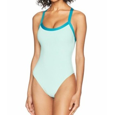 Splendid スプレンディッド スポーツ用品 スイミング Splendid NEW Green Womens Size Small S Ribbed One-Piece Swimwear