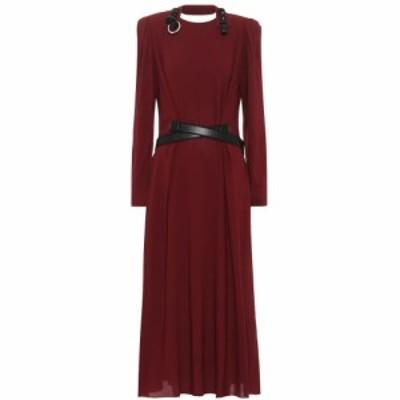 ステラ マッカートニー Stella McCartney レディース ワンピース ミドル丈 ワンピース・ドレス Crepe midi dress Redwood