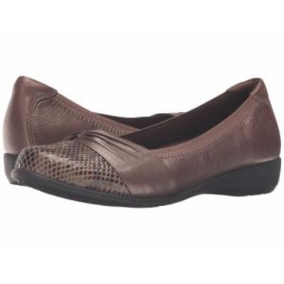 Aravon アラヴォン レディース 女性用 シューズ 靴 フラット Andrea-AR Bronze【送料無料】