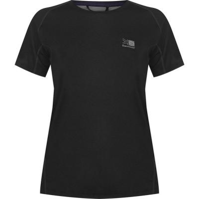 カリマー Karrimor レディース Tシャツ トップス Aspen Tech T Shirt Black