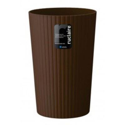 【ルクレール ゴミ箱】アスベル ASVEL ルクレール ダストボックス S 621833 ブラウン インテリア・寝具・収納