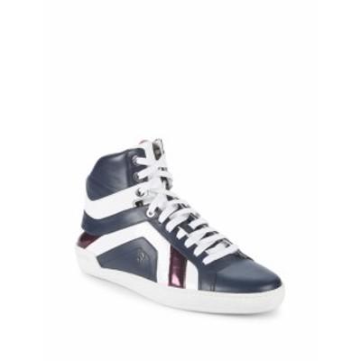バリー メンズ スニーカー Eticon Leather High-Top Sneakers