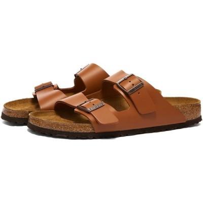ビルケンシュトック Birkenstock メンズ サンダル シューズ・靴 arizona Ginger Brown Leather