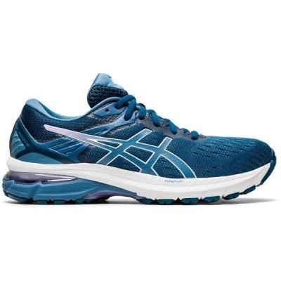 アシックス シューズ レディース ランニング Asics Women's GT-2000 9 Running Shoes Blue/Gray