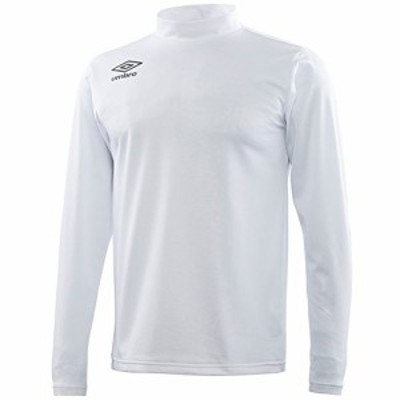 アンブロ(UMBRO) ブラッシュドインナーシャツ UBA7746L WHT ホワイト O