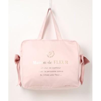 Maison de FLEUR / コンパクトキャリーバッグ WOMEN バッグ > トートバッグ