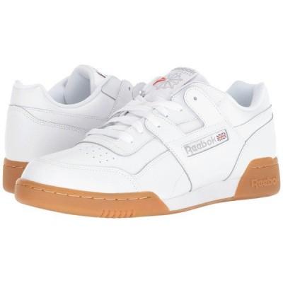 リーボック スニーカー シューズ メンズ Workout Plus White/Carbon/Classic Red/Reebok Royal/Gum