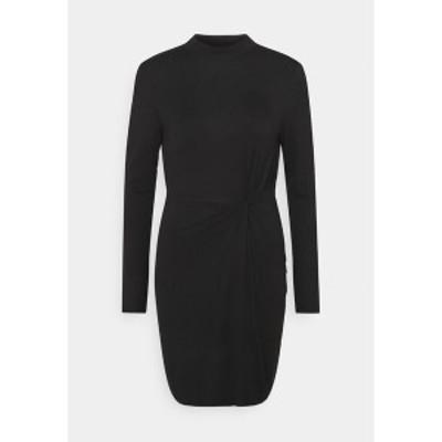 ヴェロモーダ レディース ワンピース トップス VMNORA SHORT DRESS - Day dress - black black