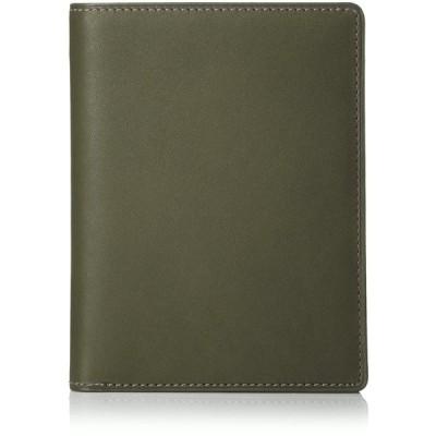 [スインリー] 財布 日本製 薄型 ダークグリーン