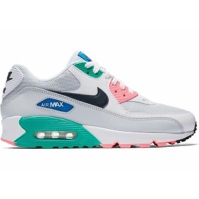 """ナイキ メンズ Nike Air Max 90 """"South Beach"""" スニーカー WHITE/OBSIDIAN-PURE PLATINUM-BLUE NEBULA エアマックス90"""