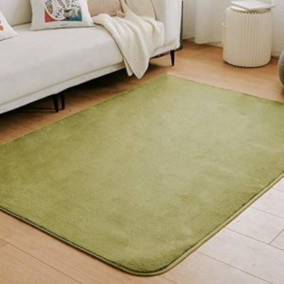 クモリ(Kumori) ラグ カーペット 洗える ラグマット 滑り止め マット 絨毯 オールシーズンタイプ フランネルラグ 床暖房/ホットカーペッ
