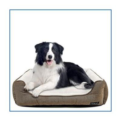 <新品>ANWA 耐久性 ある犬 ベッド 洗濯機で洗え中 犬 ベッド 広場快適な子犬<並行輸入品>