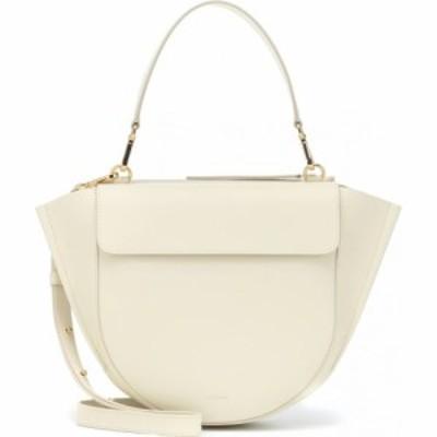 ワンダラー Wandler レディース ショルダーバッグ バッグ Hortensia Medium Leather Shoulder Bag Cream