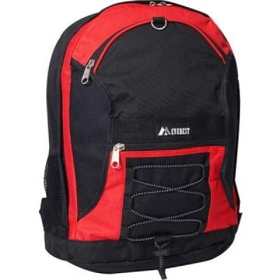 エベレスト デザインズ Everest メンズ バックパック・リュック バッグ Two-Tone Backpack (Set of 2) Red/Black