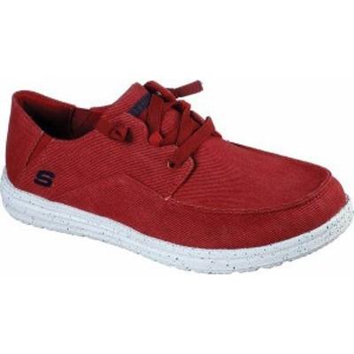 スケッチャーズ メンズ スニーカー シューズ Men's Skechers Melson Volgo Sneaker Red