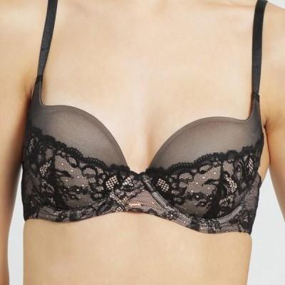 レディース 下着 Push-up bra - black/nude