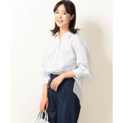 SHIPS for women / シップスウィメン SHIPS any:ボリュームスリーブシャツ