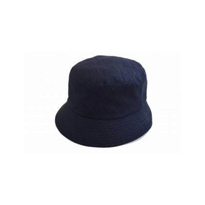 ハット 和小 ネイビー 紺 レディース 婦人 和 帽子 ファッション 日除け UVケア 日除け 紫外線対策 綿 ネット通販 日本製 オールシーズン