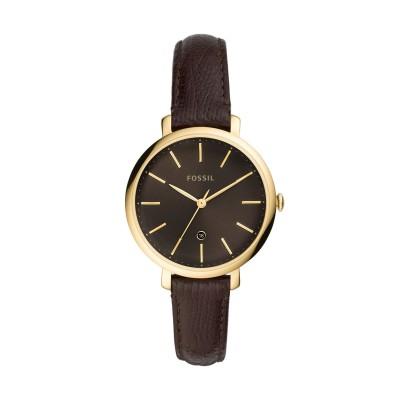 フォッシル FOSSIL 腕時計 ココア ステンレススチール / 革 腕時計