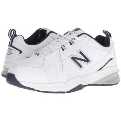 ニューバランス New Balance メンズ スニーカー シューズ・靴 608v5 White/Navy