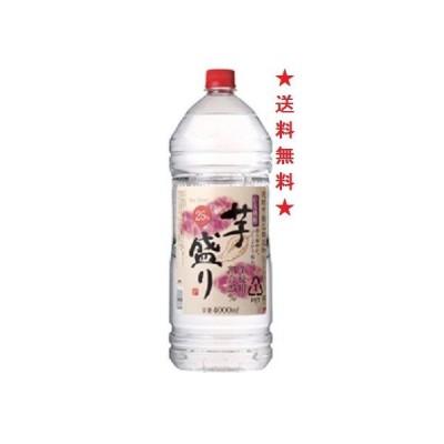 【送料無料】合同酒精 芋盛り 25゜ペットボトル 4000mlx1ケース(4本)甲類乙類混和(甲類70%、乙類30%)