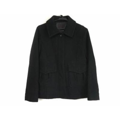 クローラ CROLLA コート サイズ36 S レディース 黒 冬物【中古】