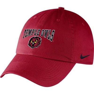ナイキ Nike メンズ キャップ 帽子 Temple Owls Cherry Campus Adjustable Hat