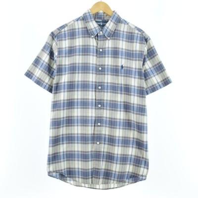 ラルフローレン ボタンダウンチェックシャツ メンズM /eaa045970