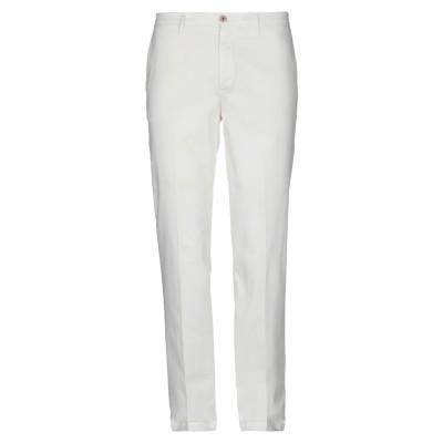 マニュエル リッツ MANUEL RITZ パンツ ホワイト 48 コットン 97% / ポリウレタン 3% パンツ