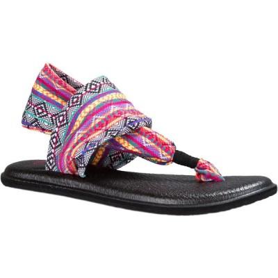 サヌーク サンダル 靴 履物 Sanuk - Sanuk レディース サンダル - Yoga Sling 2 プリント