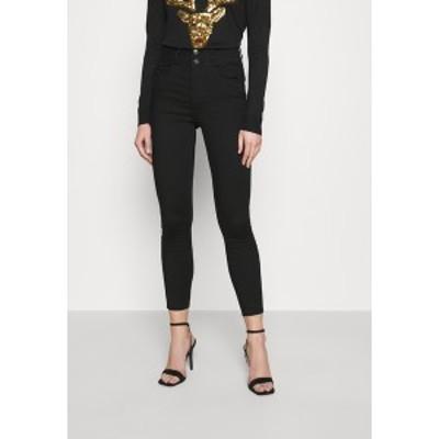 ニュールック レディース デニムパンツ ボトムス LIFT AND SHAPE HIGHWAIST - Jeans Skinny Fit - black black