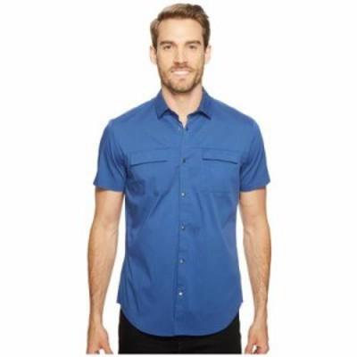 カルバンクライン その他シャツ Stretch Poplin Button Down Shirt Serene Blue