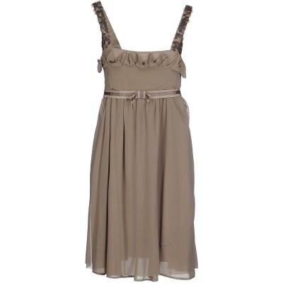 ツインセット シモーナ バルビエリ TWINSET ミニワンピース&ドレス ドーブグレー M ナイロン 100% ミニワンピース&ドレス