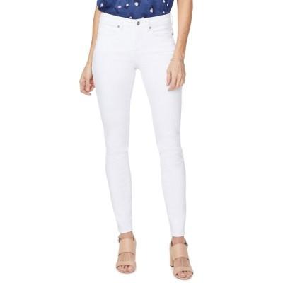エヌワイディージェイ レディース デニムパンツ ボトムス Ami Solid Skinny Jeans OPTIC WHIT