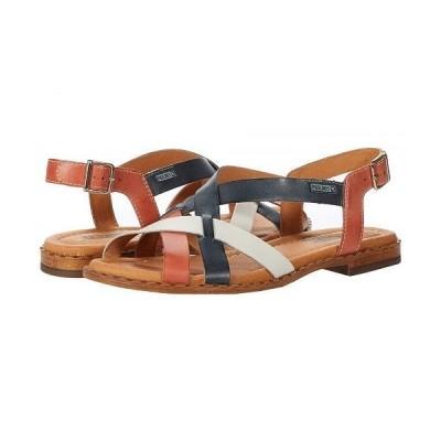 Pikolinos レディース 女性用 シューズ 靴 サンダル Algar W0X-0556C1 - Scarlet