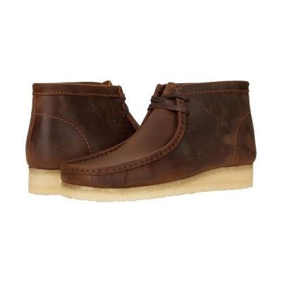 Clarks クラークス メンズ 男性用 シューズ 靴 ブーツ チャッカブーツ Wallabee Boot - Beeswax