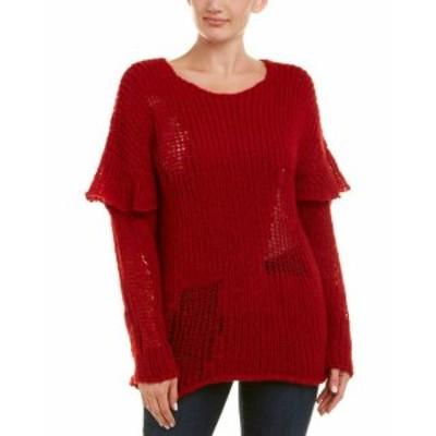 IRO イロ ファッション トップス Iro Distressed Alpaca & Wool-Blend Sweater
