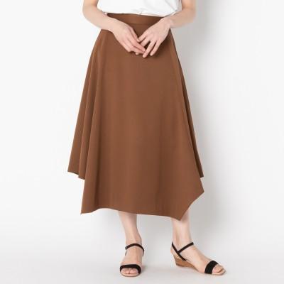 HELIOPOLE エリオポール ストレッチギャバ 台形ヘムスカート