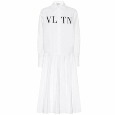 ヴァレンティノ Valentino レディース ワンピース シャツワンピース ワンピース・ドレス VLTN cotton shirt dress