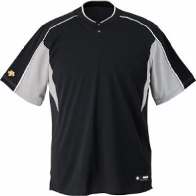 ジユニアベースボールシヤツ デサント(descente) ヤキュウソフトベースボールTシャツ (jdb104b-bksl)