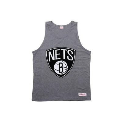 アスレチック ウェアミッシェルアンドネスMitchell And Ness Brooklyn Nets Copy Of Blank タンクトップ (アスレチック グレー) 3397A-BBW