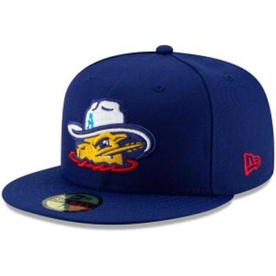 ニューエラ メンズ 帽子 アクセサリー Amarillo Sod Poodles New Era Game Authentic Collection OnField 59FIFTY Fitted Hat Royal