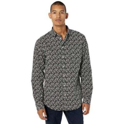ミッソーニ シャツ トップス メンズ Printed Button-Up Shirt Black/White