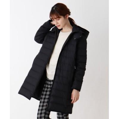 SHOO・LA・RUE / 【M-4L】ハイブリッド中綿ロングコート WOMEN ジャケット/アウター > ダウンジャケット/コート