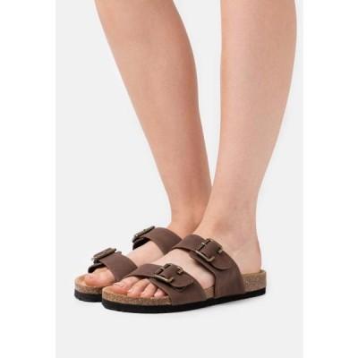 アンナフィールド レディース 靴 シューズ Slippers - dark brown