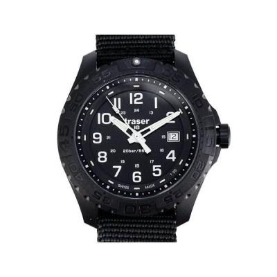 TRASER トレーサー メンズ腕時計 9031559 Outdoor Pioneer Nato ブラック ミリタリーウォッチ