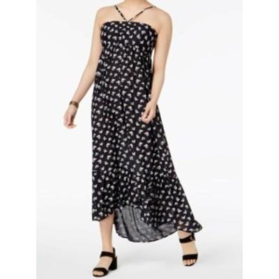 William Rast ウィリアムラスト ファッション ドレス William Rast NEW Black High-Low Floral Womens Size XS Maxi Dress