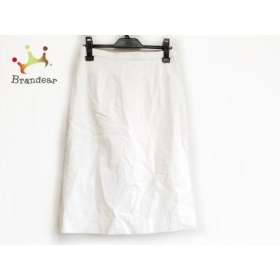 カルヴェン CARVEN スカート サイズ40 M レディース 美品 白 新着 20210114